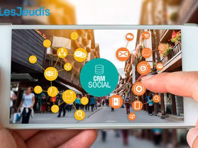 iphone que montre comment les CRMs socials marchent