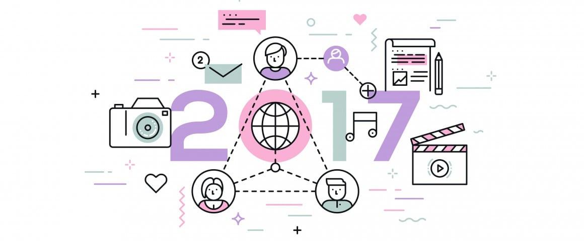 6 tendances réseaux sociaux pour 2017