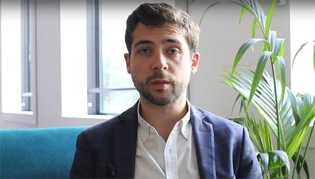 Hugo Briand, blockchain lead a Ekino