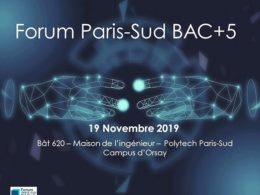 Poster Forum Paris-Sud BAC+5