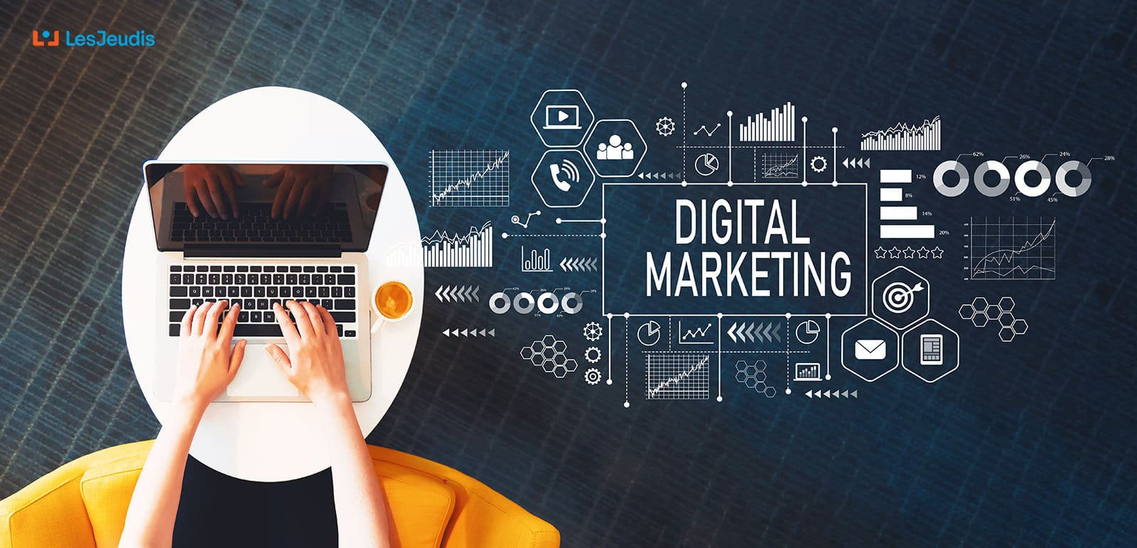 Les métiers du marketing digital