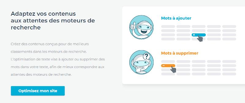 1.fr  optimisation du texte