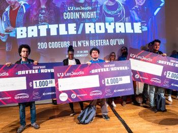 Les développeurs gagnants de la Codin' Night
