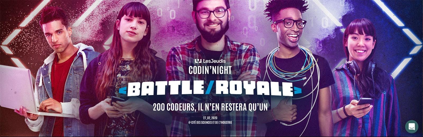 l'événement informatique La Codin' Night