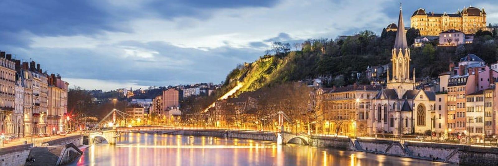 Lyon, region Auvergne-Rhône-Alpes