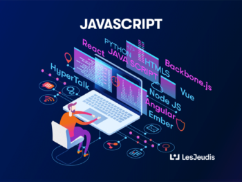 développeur de javascript sur ordinateur