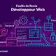 banniere pour l'article 'La feuille de route des développeurs Web'